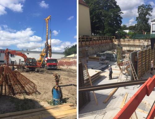 """Zircon Invest 1 und 4 """"Dietzgen- und Homeyerstraße"""" – Baufortschritt weiterhin planmäßig"""