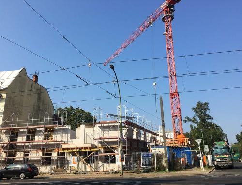 """Zircon Invest Projekt 1 und 4 """"Homeyer- und Dietzgenstrasse"""" – aktueller Baufortschritt"""