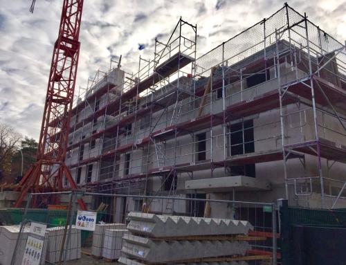 """Zircon 1 und 4 """"Homeyer- und Dietzgenstrasse"""" – Baufortschritt schreitet weiter voran"""