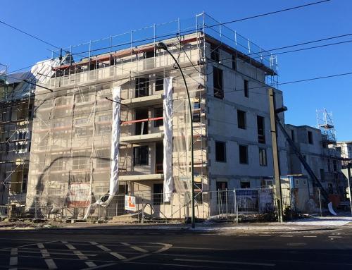 """Zircon 1 und 4 """"Dietzgen – und Homeyerstrasse"""" – aktueller Baufortschritt"""