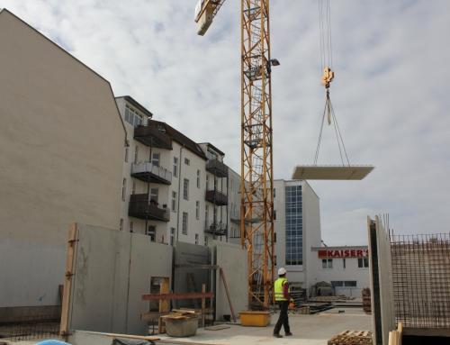"""Zircon 1 und 4 """"Dietzgen- und Homeyerstrasse"""" – Aktueller Fortschritt"""